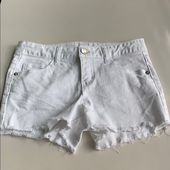 Justice Other - White Jean shorts